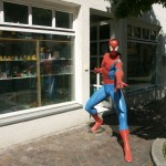 Fantasy Empire Spiderman vor'm Laden